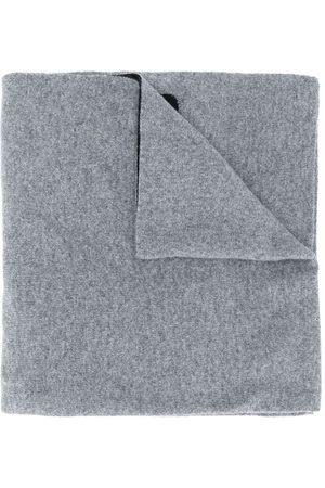 Moschino écharpe à logo intarsia