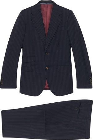 Gucci Homme Costumes - Costume à fines rayures