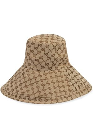 Gucci Chapeau GG monogrammé à bords larges