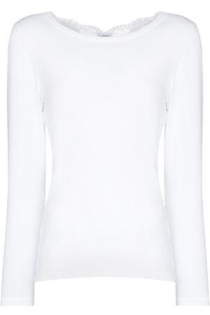 La Perla Femme Pyjamas - Haut de pyjama à détails en dentelle