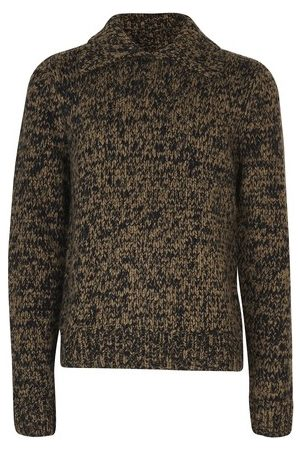 DRIES VAN NOTEN Pull Mouline à col Polo