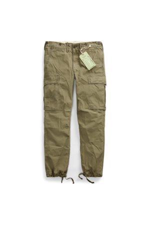 RRL Pantalon cargo en popeline de coton