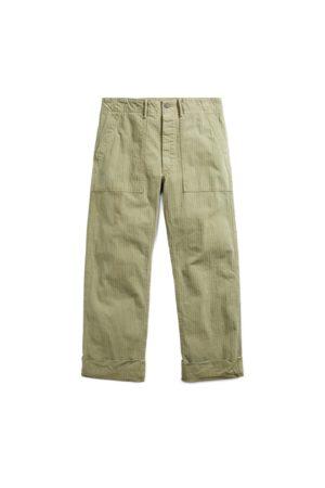 RRL Pantalon en coton à chevrons