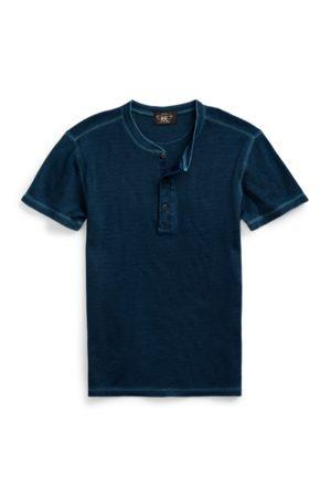 RRL T-shirt en tricot gaufré