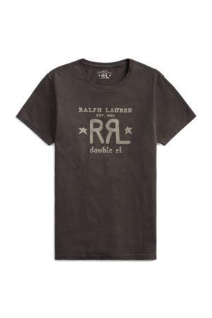 RRL T-shirt col rond à logo