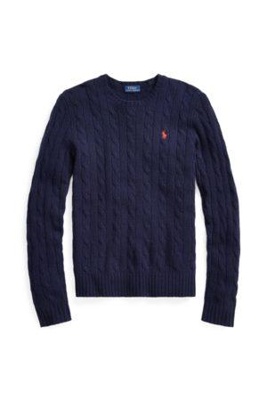 Polo Ralph Lauren Pull à col rond torsadé en laine