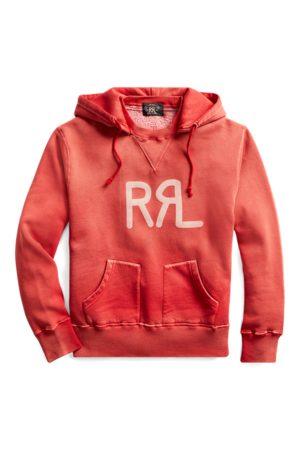 RRL Sweat à capuche en molleton à logo
