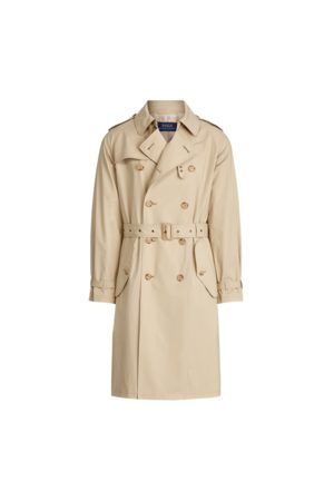 Polo Ralph Lauren Trench-coat en coton stretch