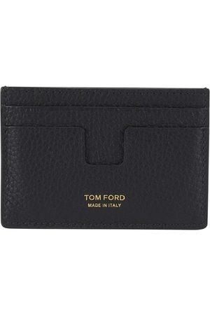 Tom Ford Porte-cartes en cuir grainé