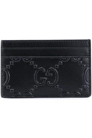 Gucci Porte-cartes à design embossé