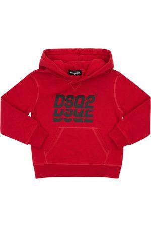 Dsquared2 Sweat-shirt En Coton Imprimé À Capuche