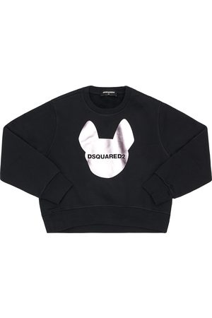Dsquared2 Sweat-shirt En Coton Imprimé Logo