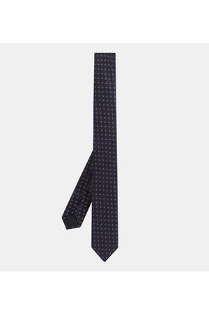 Galeries Lafayette Cravate Gimomotif soie