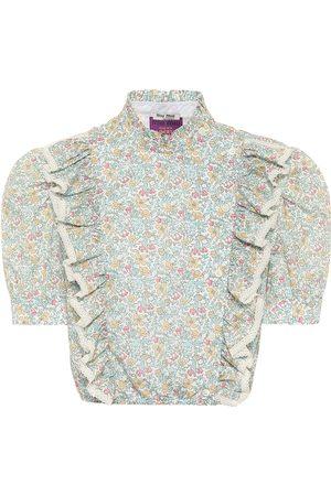 Miu Miu X Liberty – Top en coton à fleurs