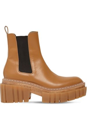 "Stella McCartney Bottines En Simili Cuir ""emilie"" 60 Mm"
