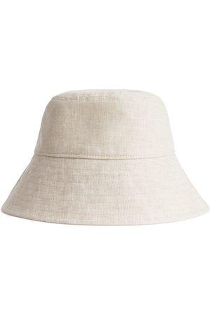 ARKET Femme Chapeaux - Linen Bucket Hat