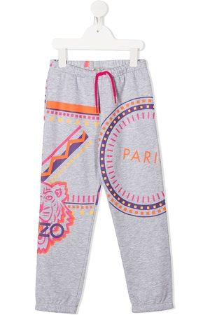 Kenzo Logo motif print track pants