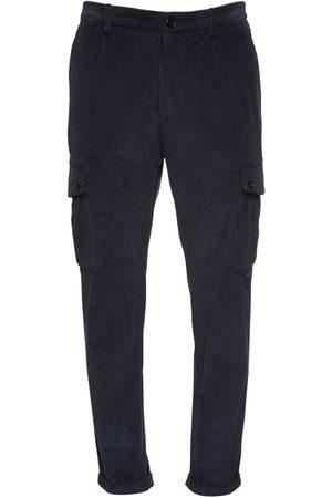 Dolce & Gabbana Pantalon Cargo En Velours De Coton 17 Cm