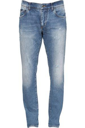 Dolce & Gabbana Jean En Denim De Coton 16,5 Cm
