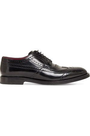 Dolce & Gabbana Chaussures Derby À Lacets En Cuir 30 Mm