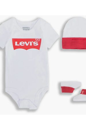 Levi's Baby Classic Batwing Set / White