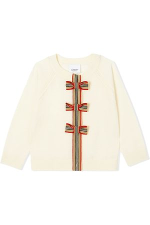 Burberry Bow detailed cardigan