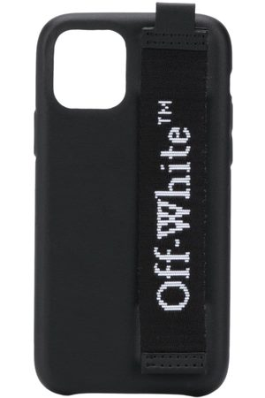 OFF-WHITE INDUSTRIAL LOGO IPHONE 11 PRO BLACK WHIT