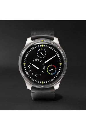 Ressence Homme Montres - Type 5 Mechanical 46mm Titanium and Leather Watch, Ref. No. TYPE 5B