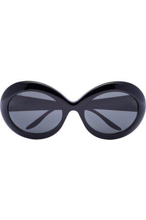 Gucci Lunettes de soleil Black à monture ronde