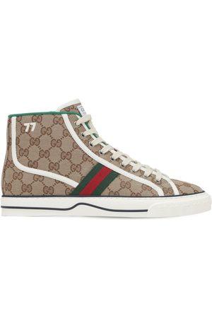 "Gucci Sneakers En Toile ""gg Mignon Tennis 1977"""