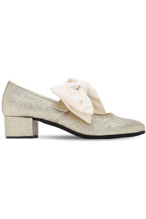 MONNALISA Chaussures En Coton Mélangé À Paillettes