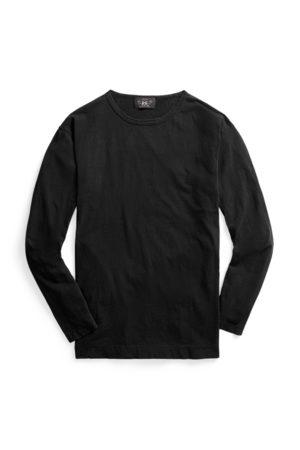RRL T-shirt indigo à manches longues
