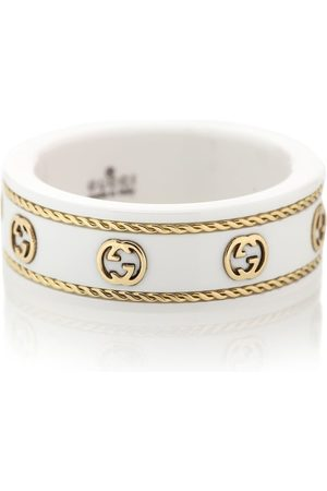 Gucci Bague Icon en or 18 ct et corindon synthétique