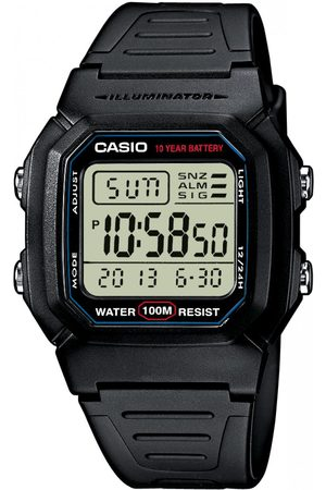 Casio Montre Résine Collection W-800H-1AVES - Homme