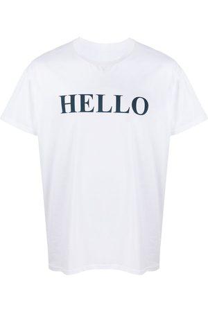 MACKINTOSH T-shirt Hello and Goodbye