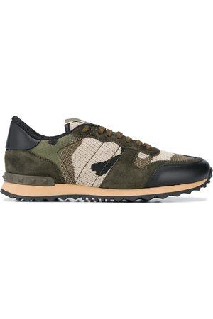 VALENTINO GARAVANI Camouflage-pattern Rockrunner sneakers