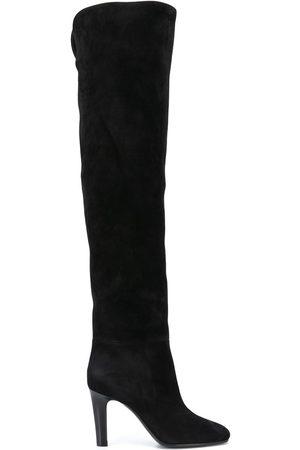 Saint Laurent Jane 90mm point-toe boots