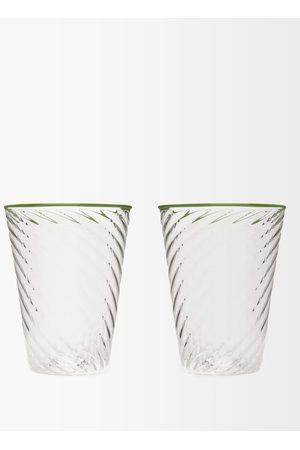 CAMPBELL-REY Ensemble de deux grands verres Cosima X Laguna B