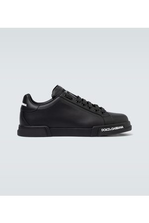 Dolce & Gabbana Homme Baskets - Baskets Port Light en cuir