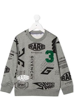 Givenchy Garçon Sweatshirts - Sweat à motif monogrammé