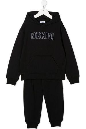 Moschino Logo sweatshirt set