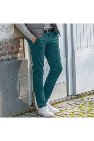 BLANCHEPORTE Pantalon chino toile gabardine