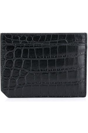 Saint Laurent Crocodile effect cardholder
