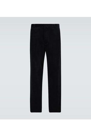Alanui Pantalon large en velours côtelé
