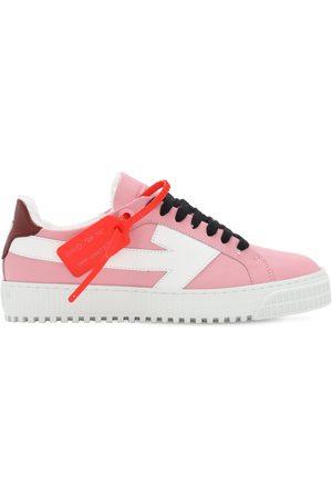 """OFF-WHITE Sneakers Basses En Cuir """"arrow"""" 20 Mm"""
