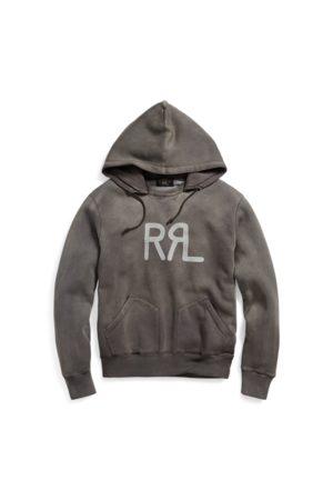 RRL Sweat à capuche à motif en coton