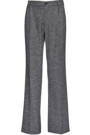 Dolce & Gabbana Pantalon Loose En Laine Mélangée 25 Cm