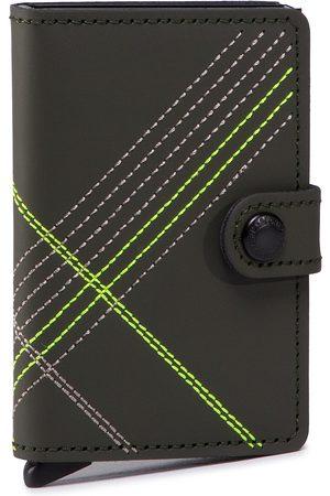 Secrid Portefeuille homme petit format - Miniwallet MSt Stitch Linea Lime