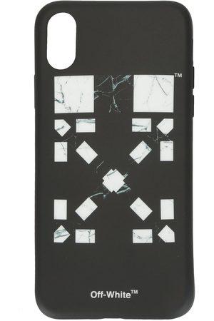 OFF-WHITE X Vancouver étui d'iPhone XR à logo imprimé