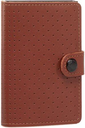 Secrid Portefeuille homme petit format - Miniwallet Perforated MPF Cognac